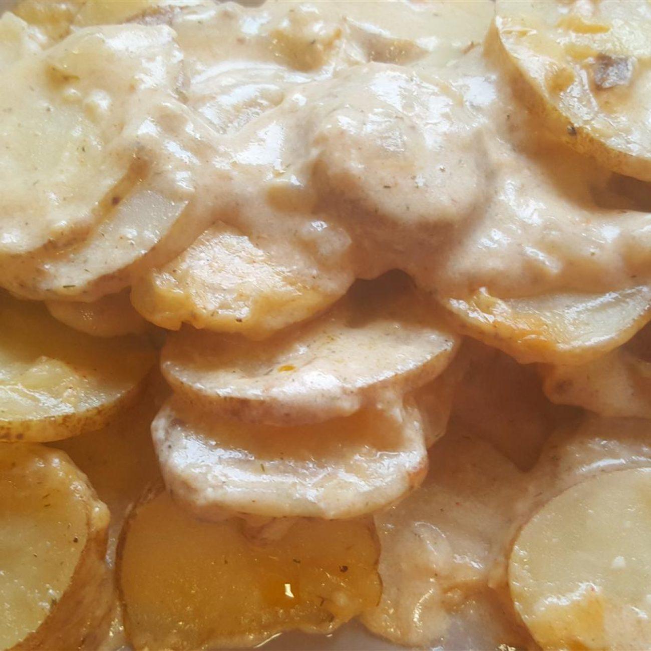 Baked Scalloped Potatoes