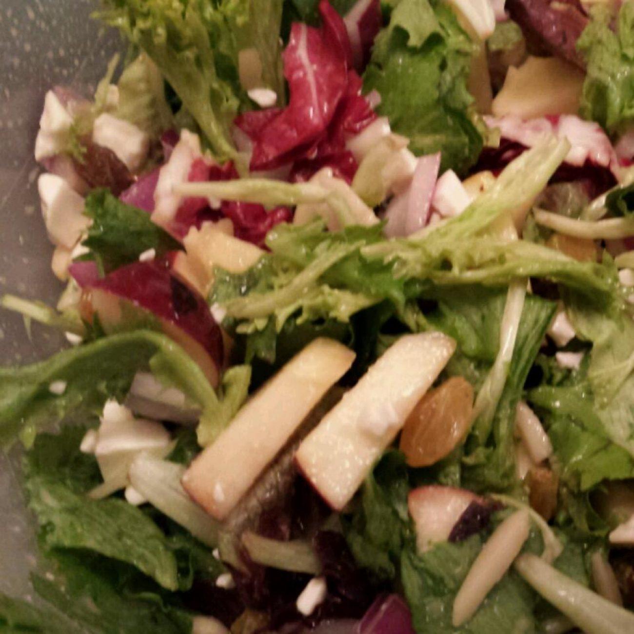 Apple Almond Crunch Salad Recipe