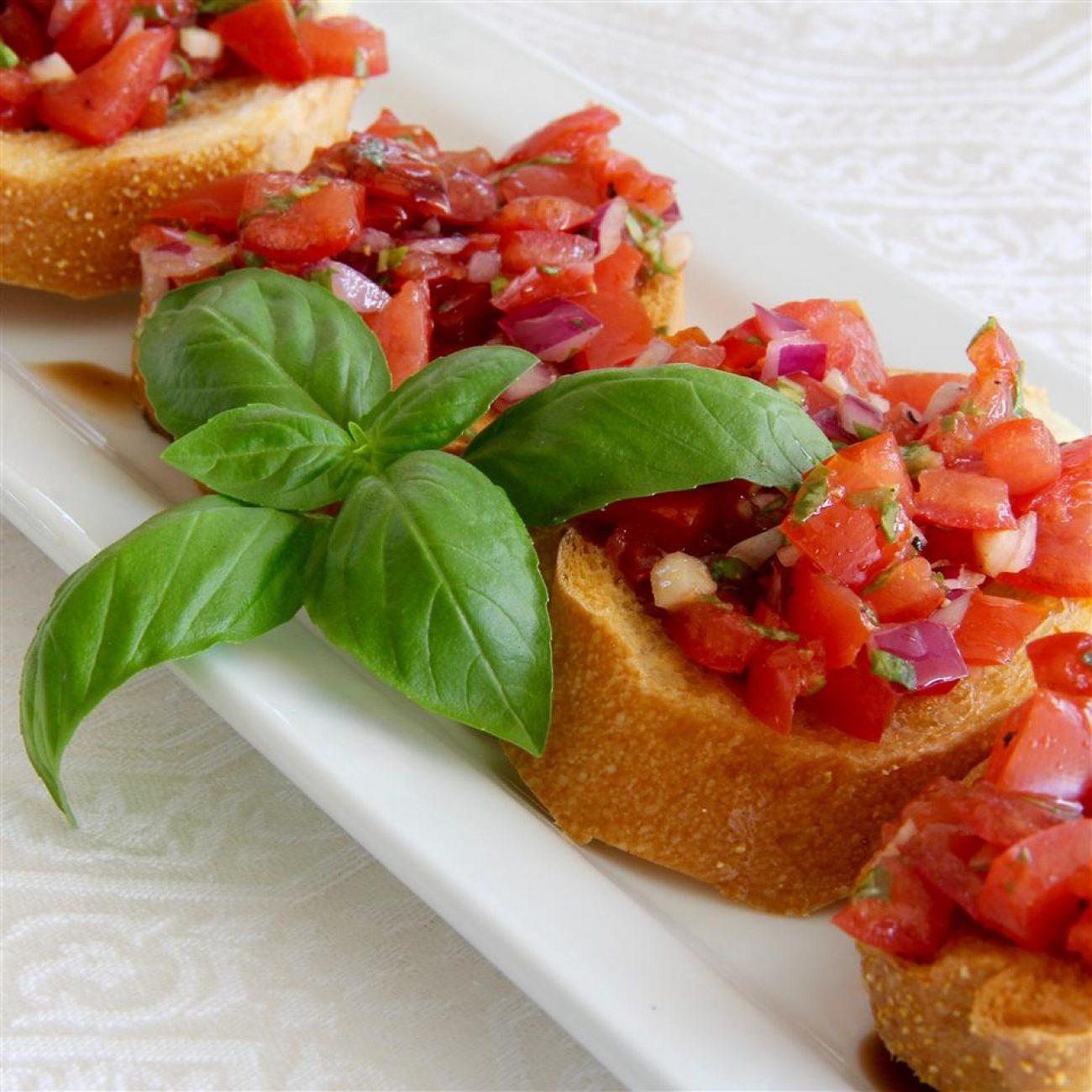 Italian-Style Bruschetta Recipe