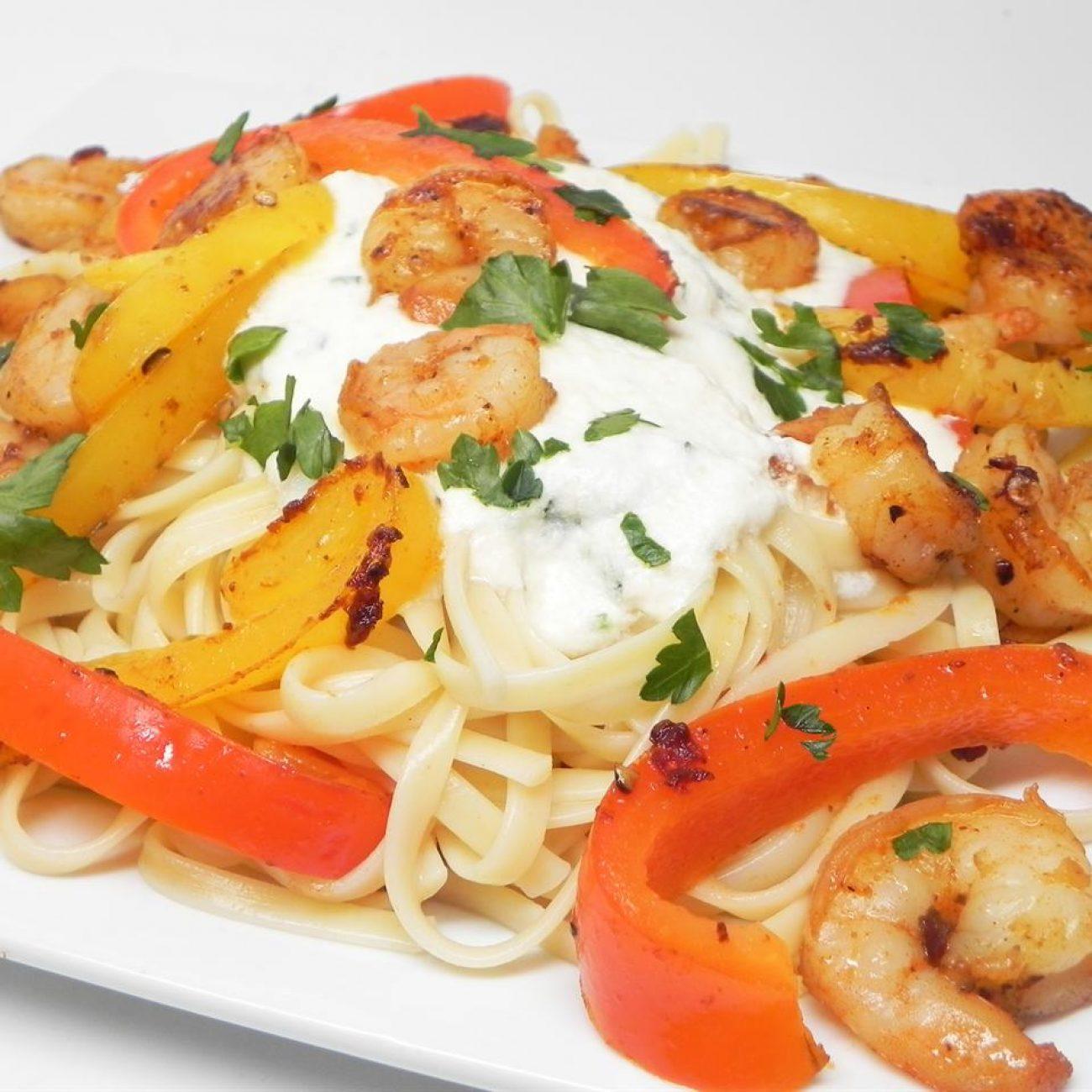 CraZee's Creamy Seafood and Pasta Recipe