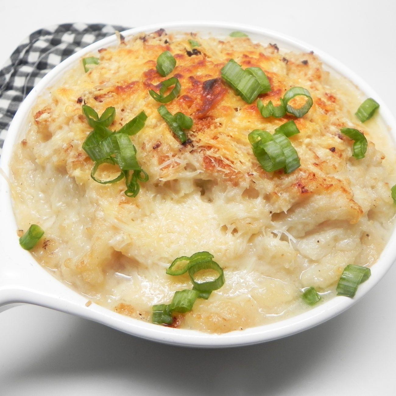 Instant Pot® Mashed Cauliflower with Garlic Recipe