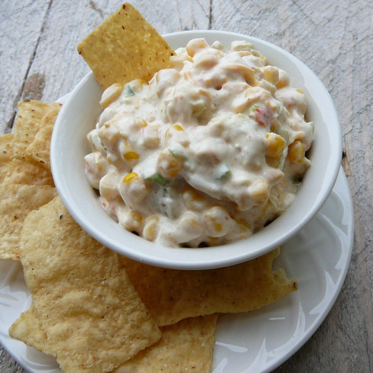 Spicy Corn Dip Recipe