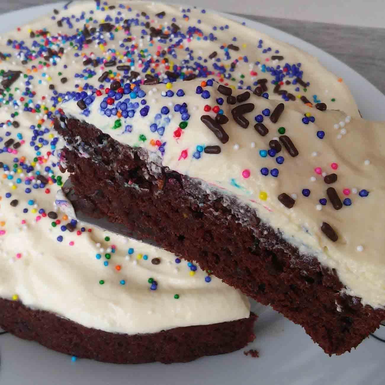 Healthy-ish Chocolate Cake Recipe
