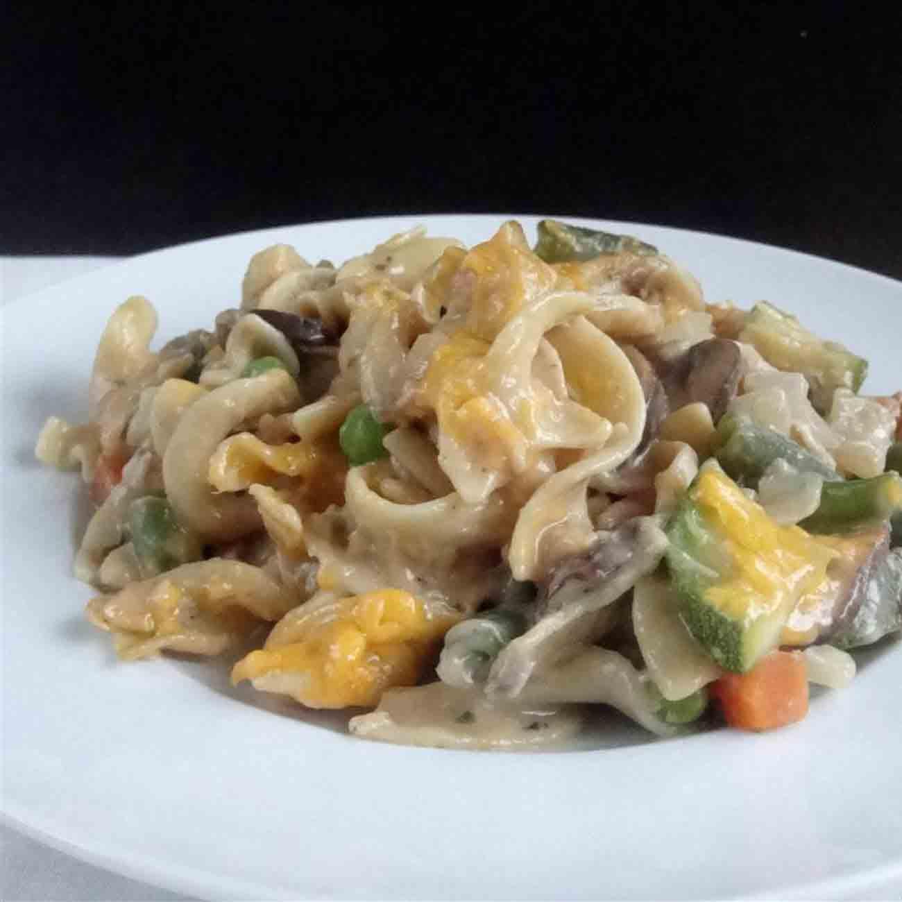Tuna and Vegetable Casserole Recipe