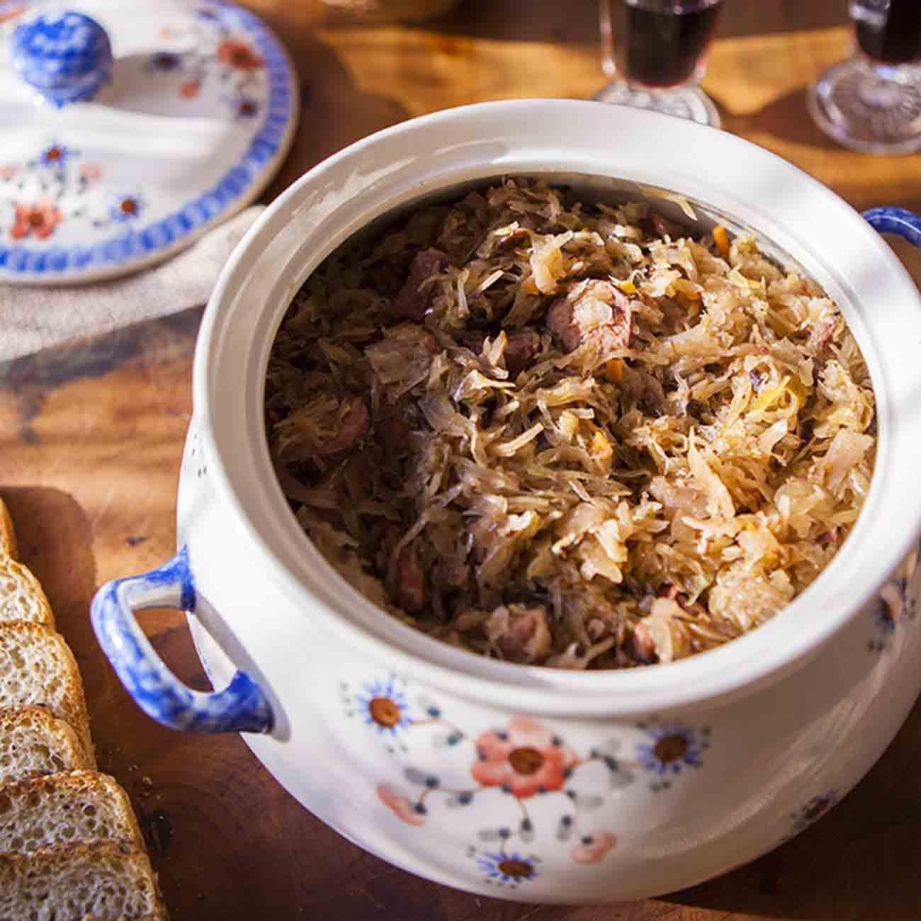 Bigos (Polish Hunter's Stew) Recipe