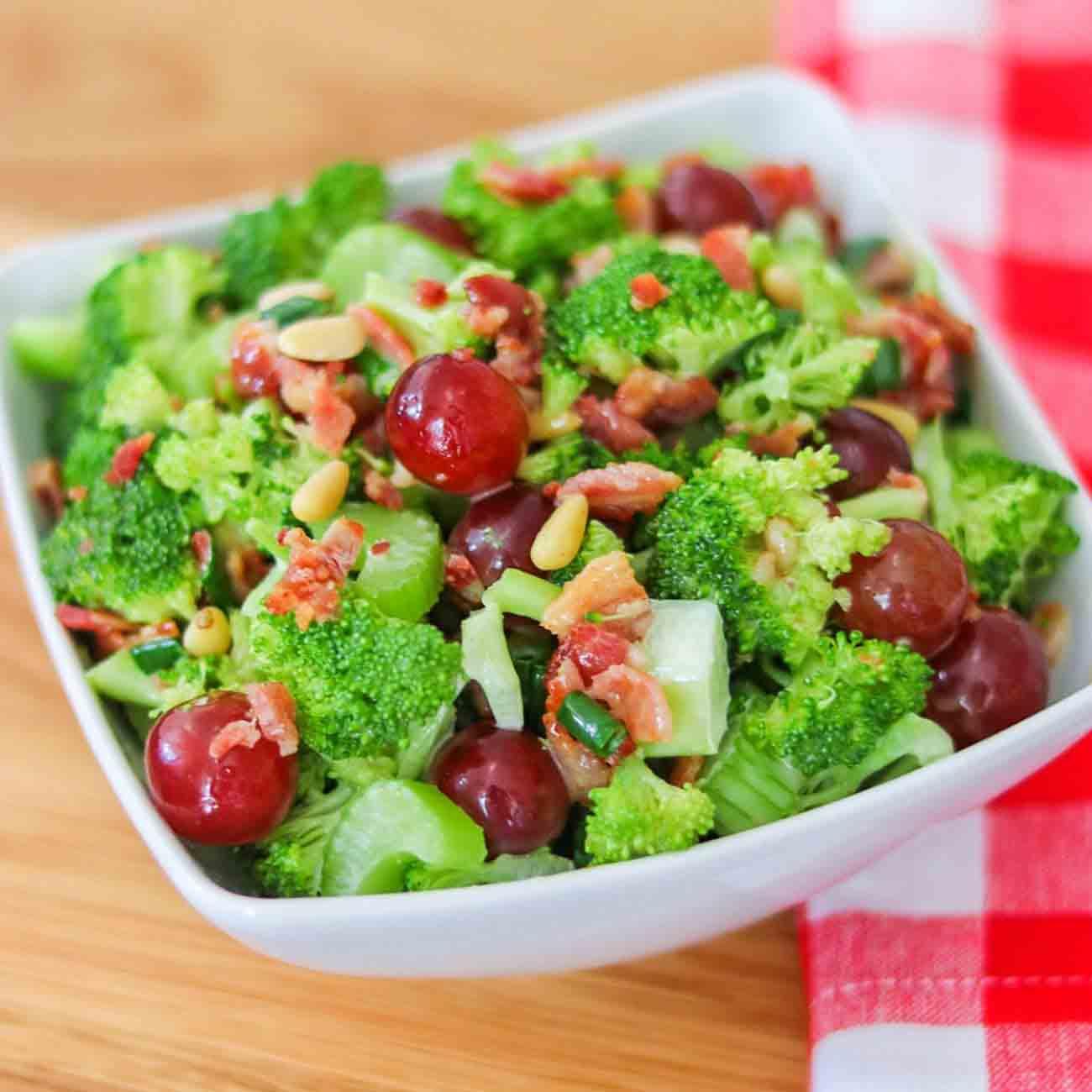Fresh Healthy Salad with Cherries