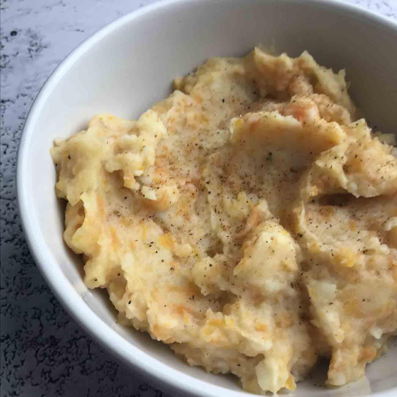 Pumpkin Mashed Potatoes