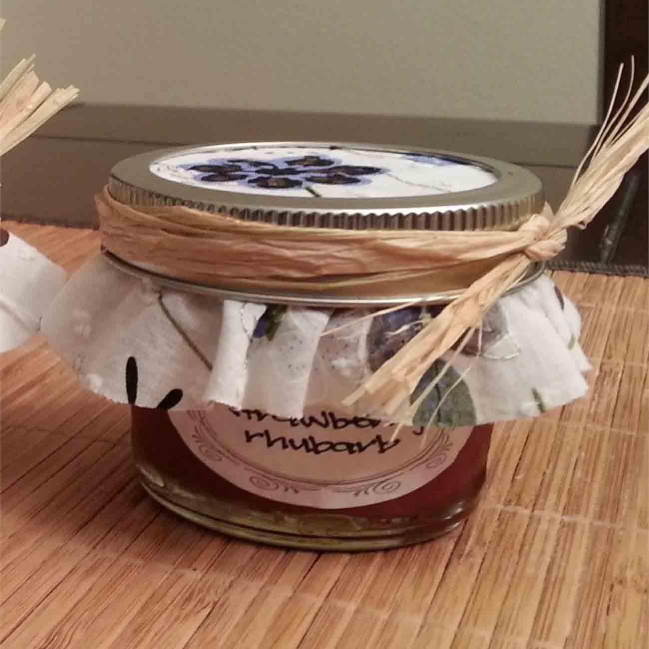 Pectin-Free Strawberry Rhubarb Jam Recipe