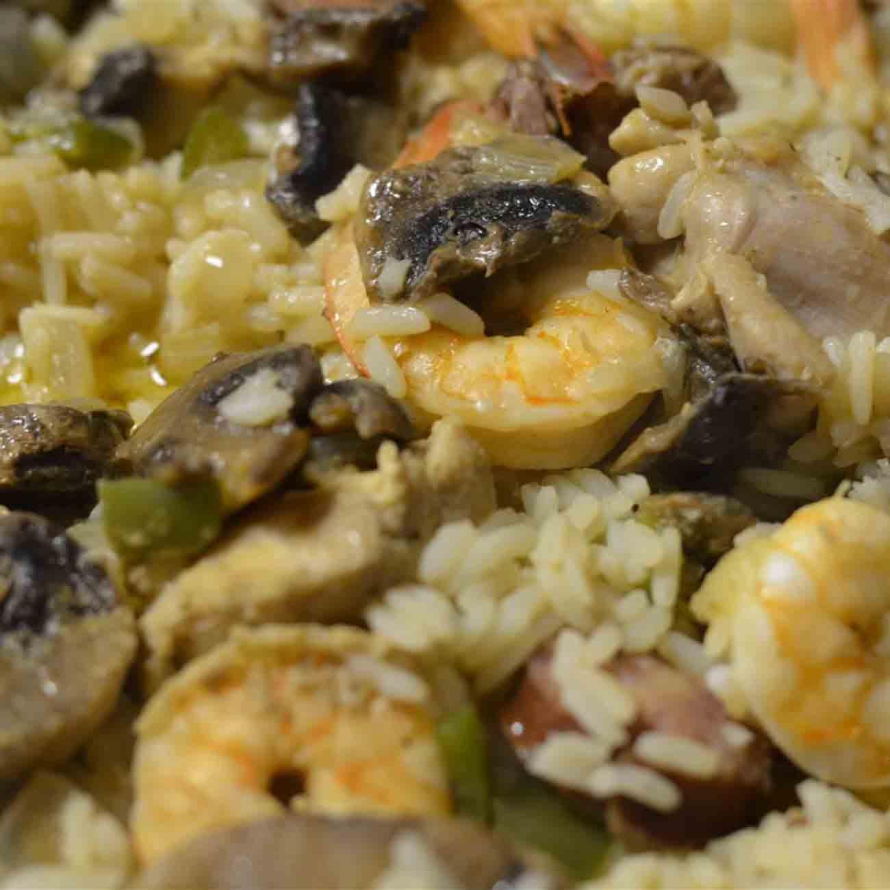 Cajun Paella Recipe